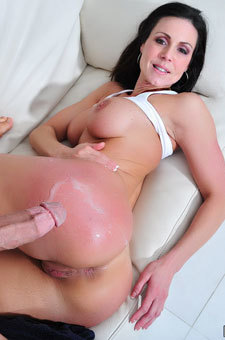 Kendra Lust's Ass Cumshot