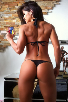 Perfectly Worked Out Babe
