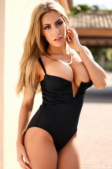 Sexy Blonde Ashley Emma