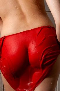 Cassie Laine Takes A Steamy Shower