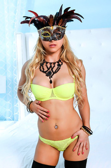 Alix Lynx In Mask
