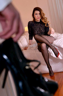 Misha Cross Hot Footsex